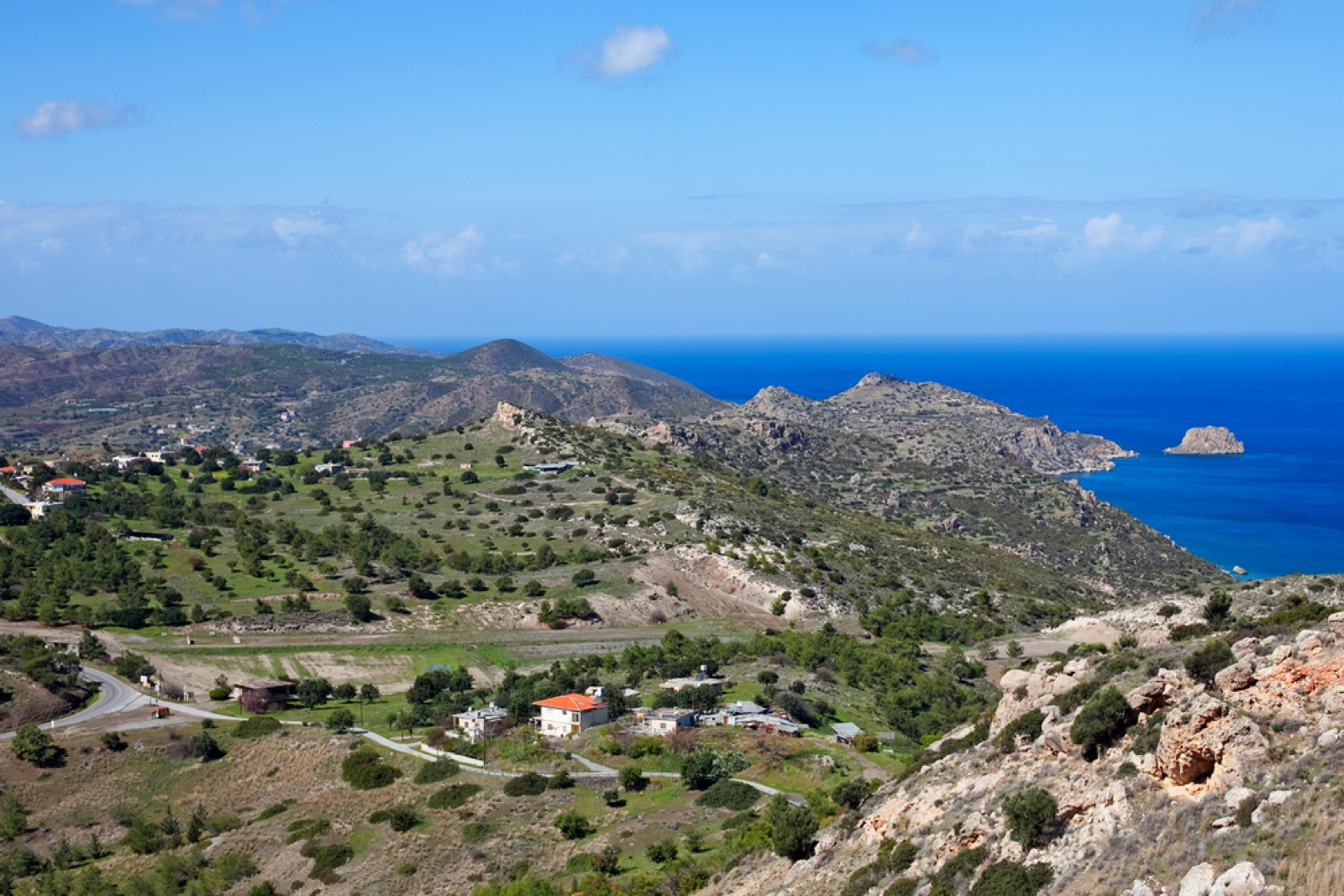 Курортные поселки на Северном Кипре - северное побережье