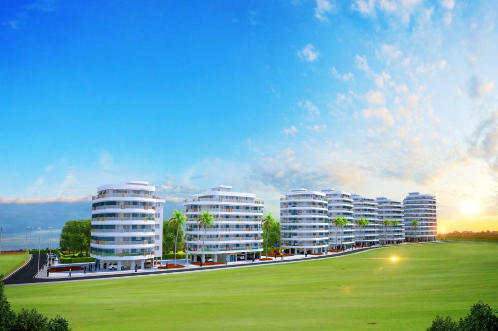 Апартаменты «Long Beach Park Residence» студия