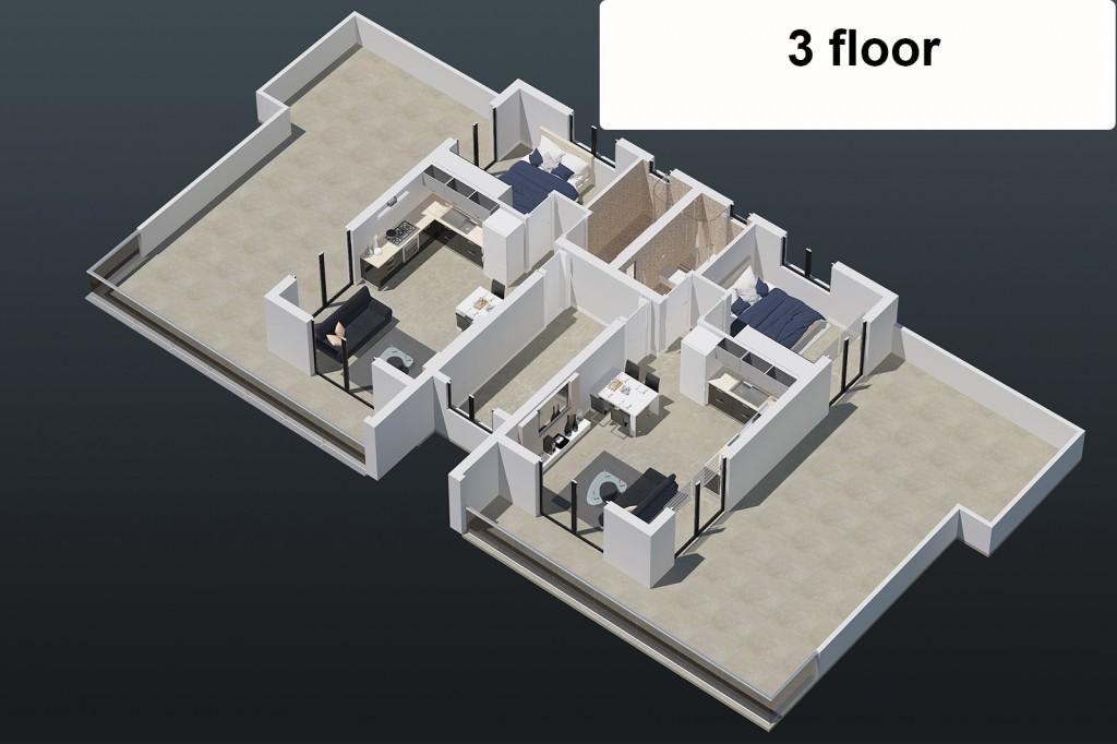 "Апартаменты ""Aquamarine"" 1+1 пентхаус"
